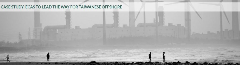 Case Study: ECAs to Lead the Way for Taiwanese Offshore